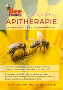 Flyer Apitherapie Opleiding Algemeen Voorkant 2017-2018