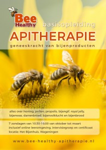 flyer apitherapie opleiding 2018-2019