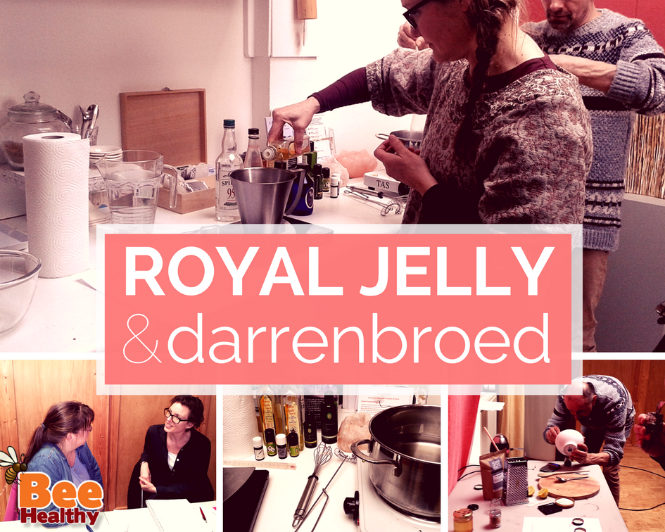 Workshop Royal jelly en darrenbroed