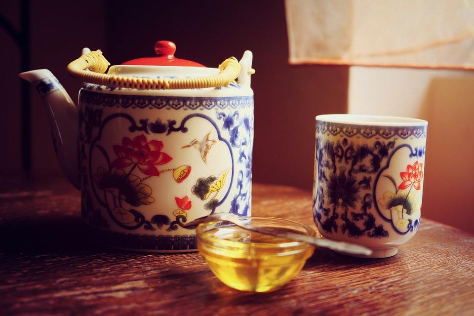 groene thee honing gezichtspeeling